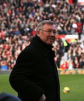 Sir Alex Ferguson, former manager of Man U.